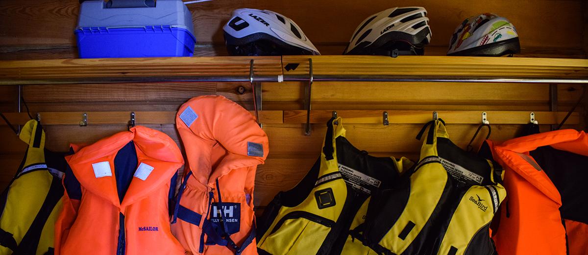 Veneilyyn ja pyöräilyyn