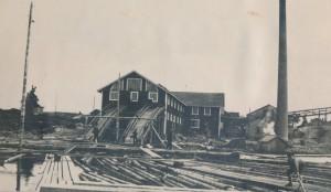 Kukkapään saha (toiminnassa 1904-51) 1930-luvulla