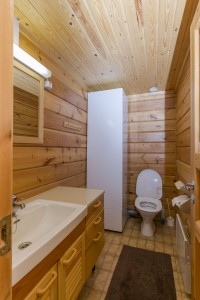 Sauna indoor wc