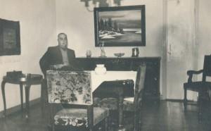 Gunnar B. ruokasalissa 1948