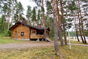 Sauna on lake Saimaa